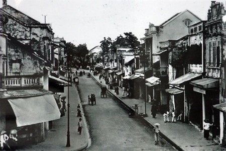 Hình ảnh phố cổ Hà Nội xưa - Ảnh tư liệu