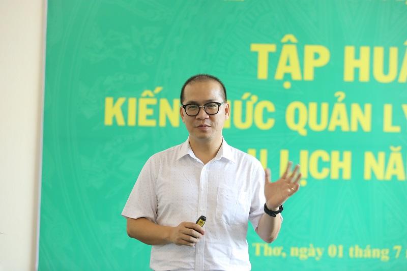 PGS.TS Phạm Hồng Long - Ảnh: Việt Hà.